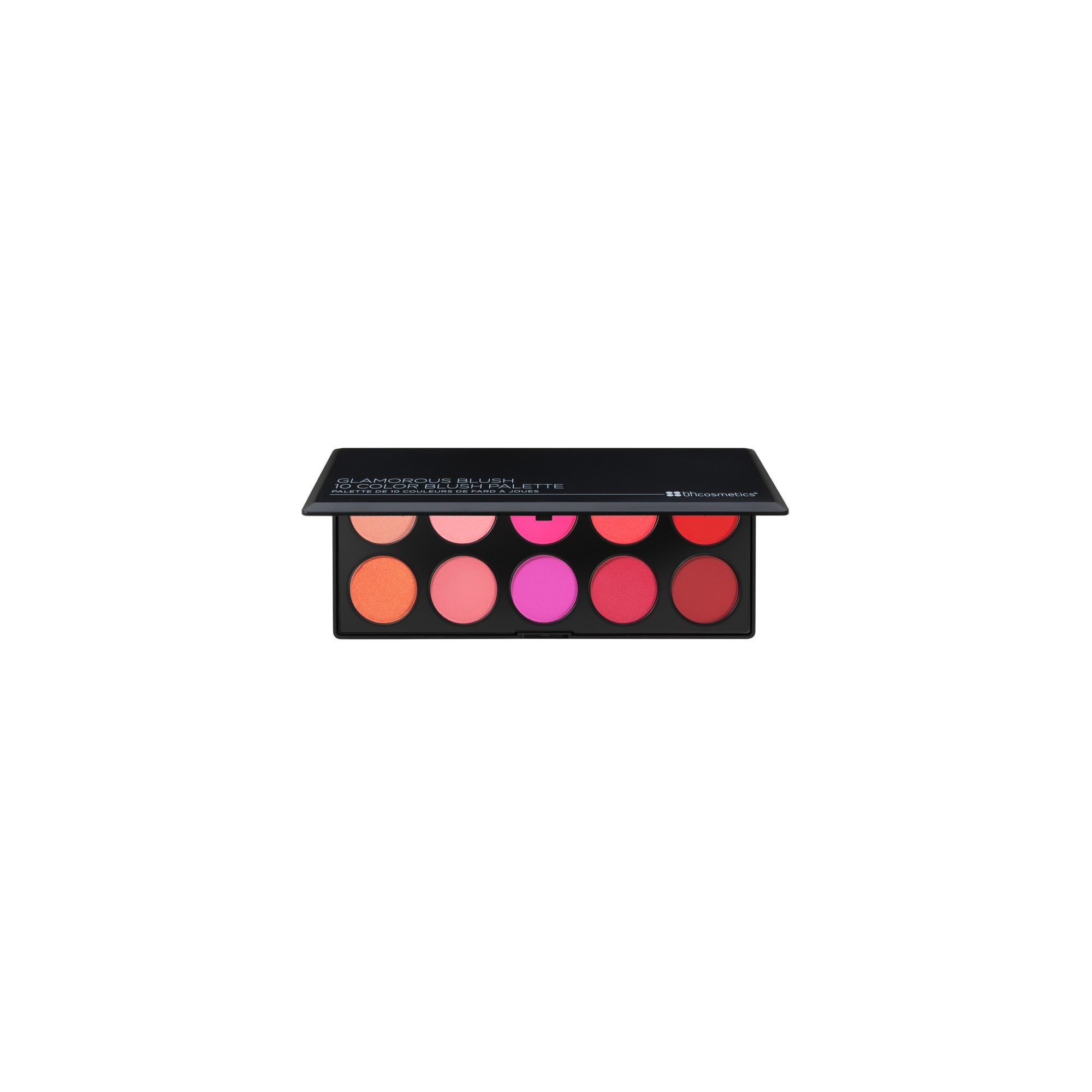 BH Cosmetics Glamorous Blush 10 Color Blush Palette