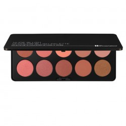 BH Cosmetics Nude Blush 10 Color Blush Palette