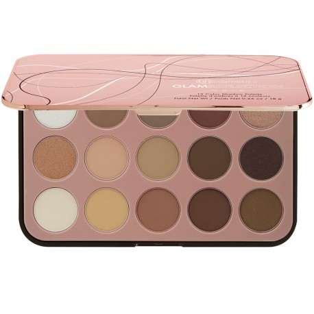 BH Cosmetics Glam Reflection 15 Color Shadow Palette Rosé
