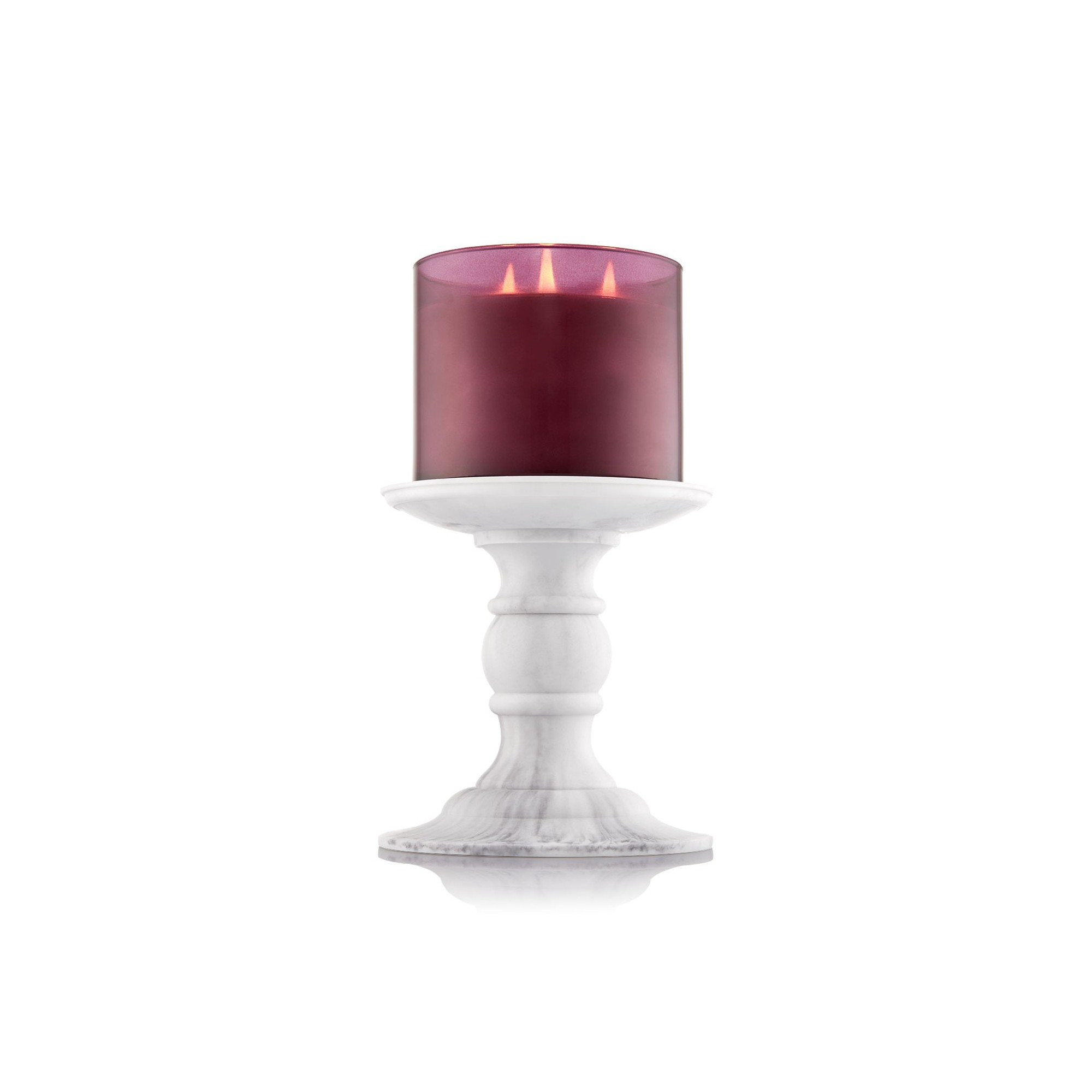 Bath & Body Works Faux Marble Pedestal Support Bougie