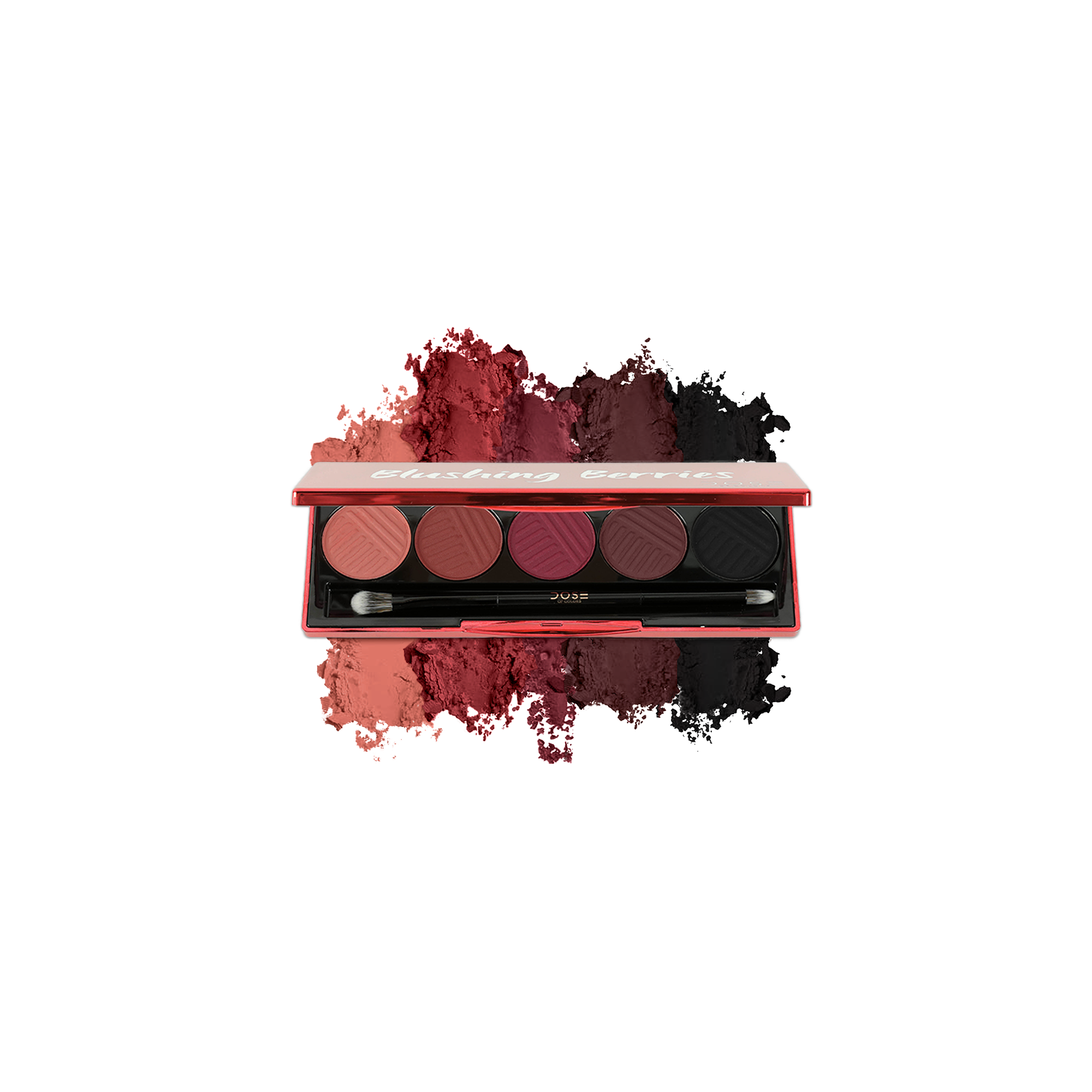 Dose Of Colors Blushing Berries Eyeshadow Palette