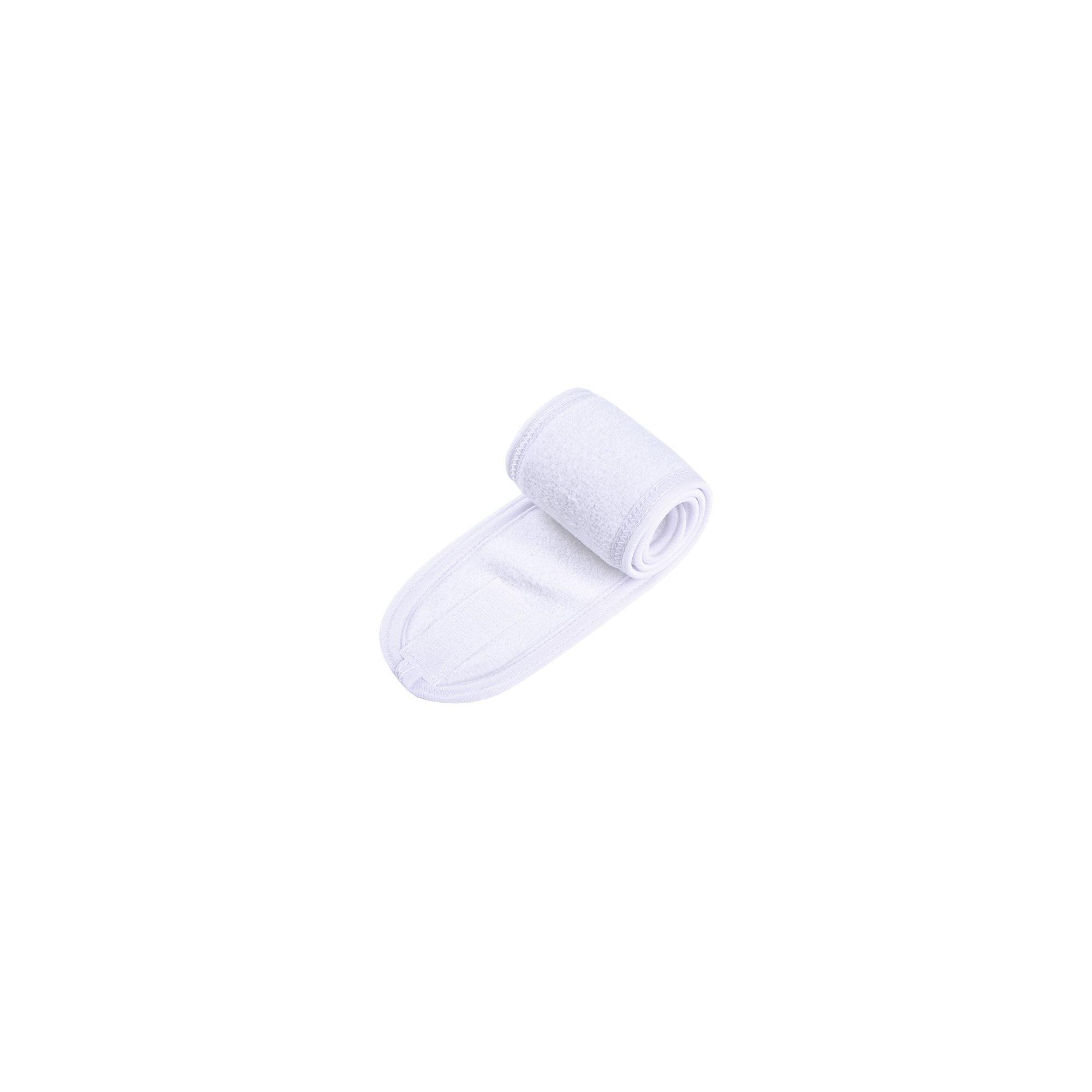 Abbes Cosmetics Bandeau de Maquillage Headband SPA White