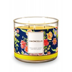 Bath & Body Works Limoncello 3 Wick Scented Candle