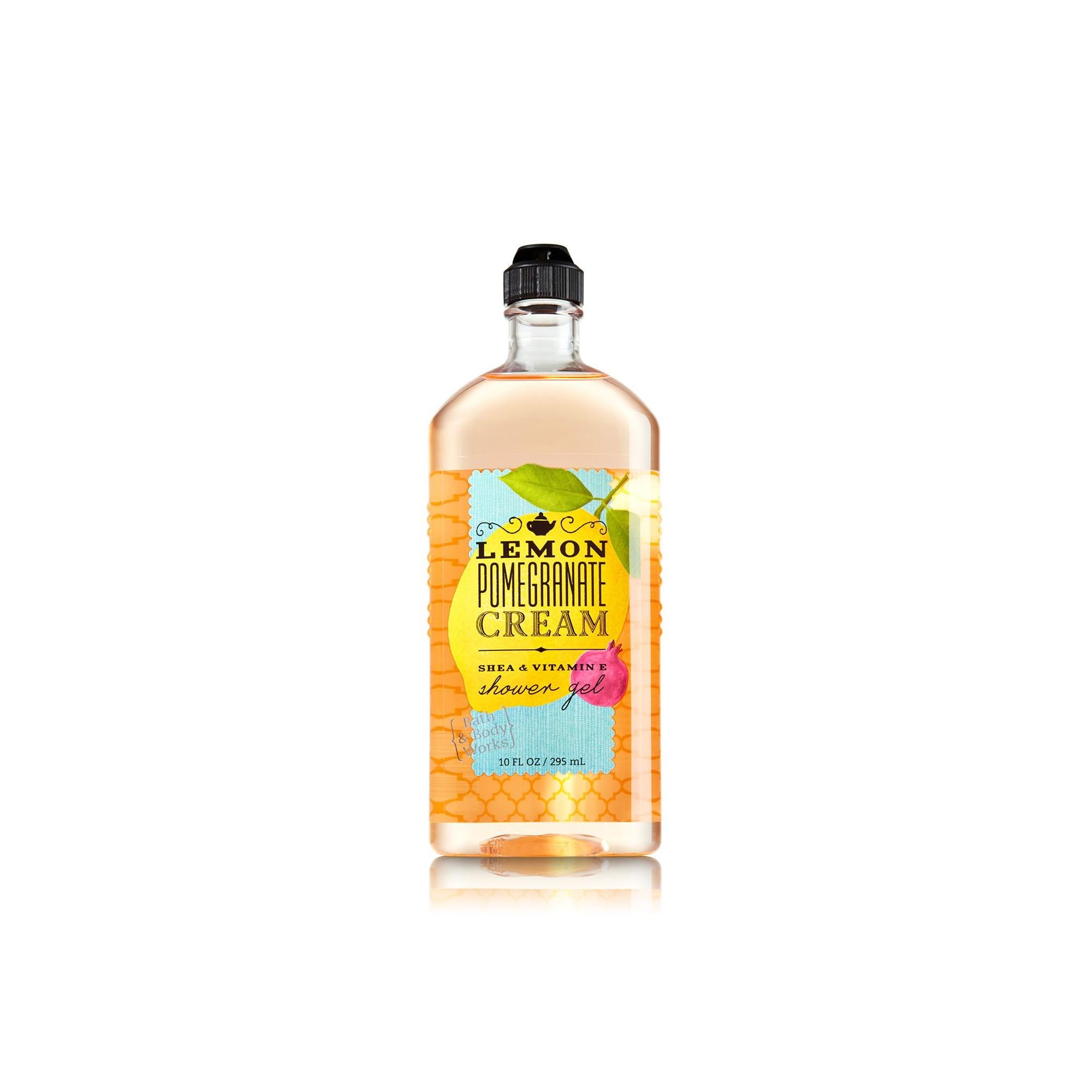Bath & Body Works Lemon Pomegranate Cream Shower Gel