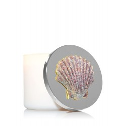 Bath & Body Works Sparkly Pink Seashell 3-Wick Candle Magnet