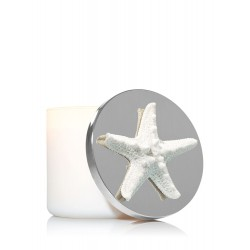 Bath & Body Works Sparkly White Starfish 3-Wick Candle Magnet