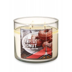 Bath & Body Works Campfire Donut 3 Wick Scented Candle
