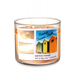 Bath & Body Works Orange Cream Soda 3 Wick Scented Candle