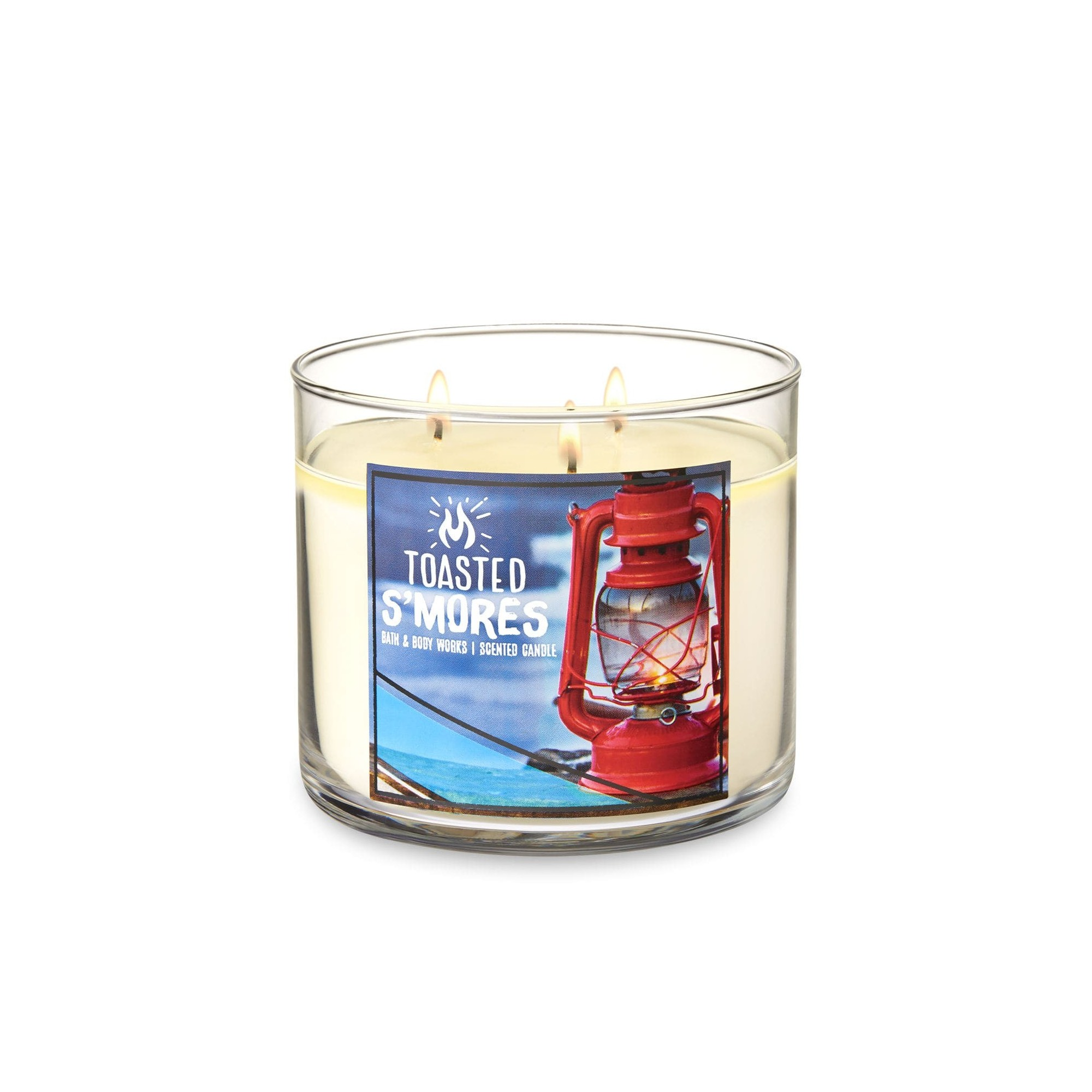 Bath & Body Works Toasted S'Mores 3 Wick Scented Candle