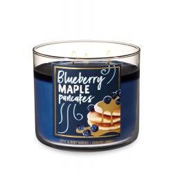 Bath & Body Works Blueberry Maple Pancakes 3 Wick Scented Candle