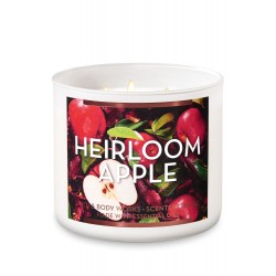 Bath & Body Works Heirloom Apple 3 Wick Scented Candle