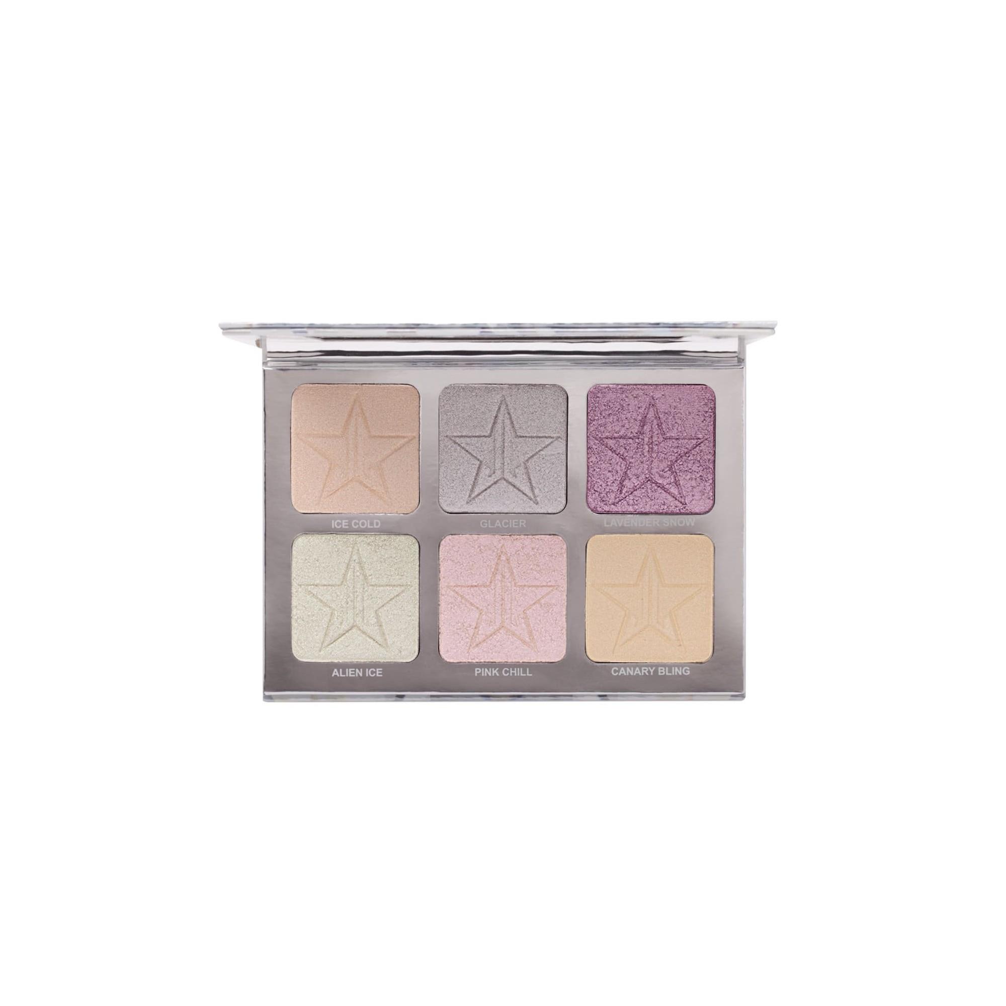 Jeffree Star Cosmetics Platinum Ice Pro Skin Frost Palette