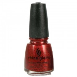 China Glaze Intemporels Pailletés Ruby Pumps