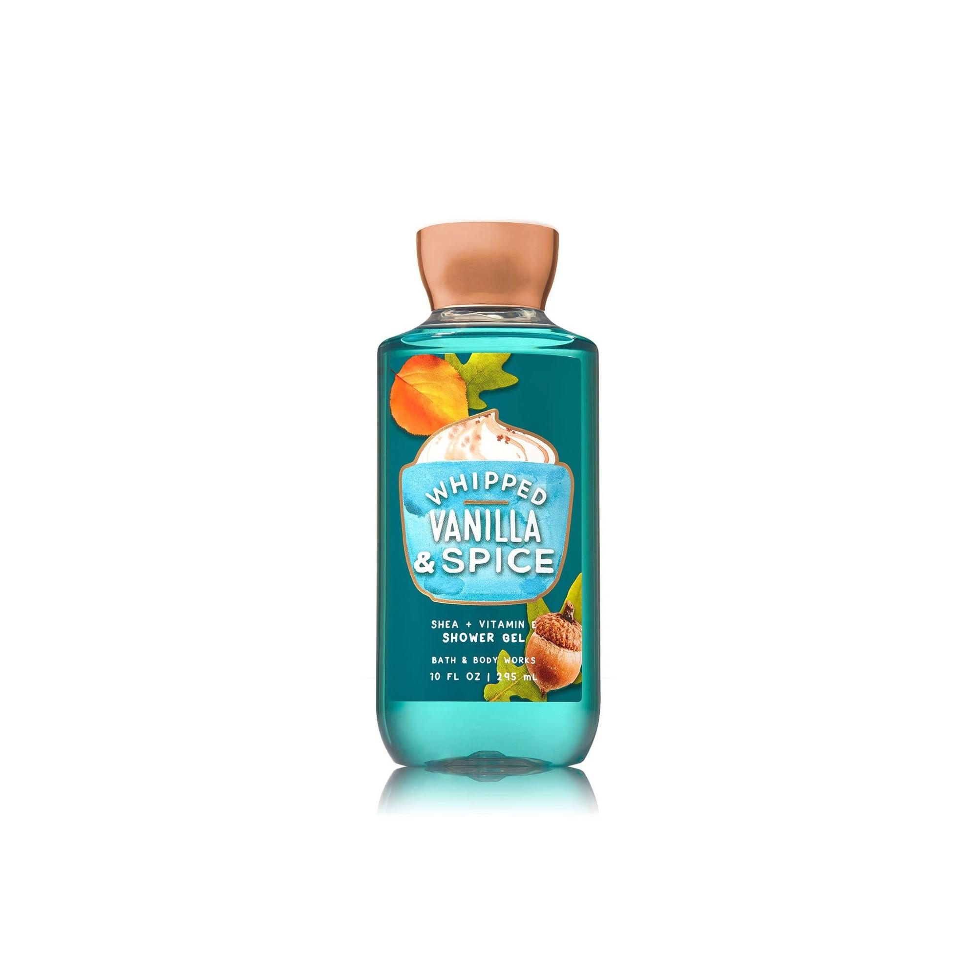 Bath & Body Works Whipped Vanilla & Spice Shower Gel