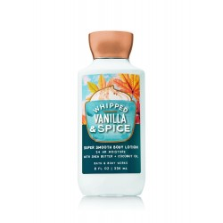 Bath & Body Works Whipped Vanilla & Spice Body Lotion