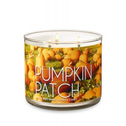 Bath & Body Works Pumpkin Patch 3 Wick Scented Candle