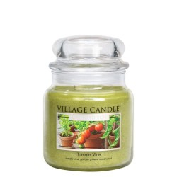 Village Candle Tomato Vine Medium Jar Glass