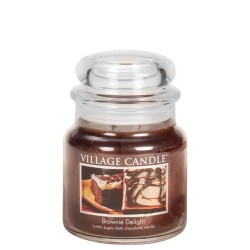 Village Candle Brownie Delight Medium Jar Glass