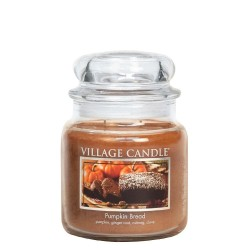 Village Candle Pumpkin Bread Medium Jar Glass