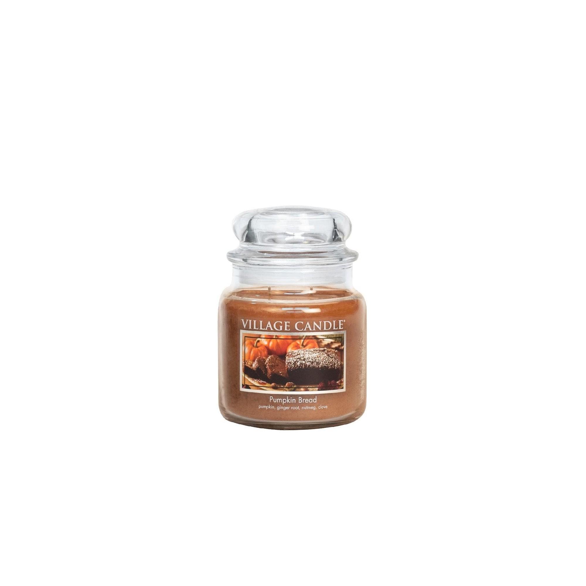 Village Candle Pumpkin Bread Medium Jar Glass