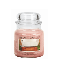 Village Candle Welcome Home Medium Jar Glass