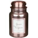Village Candle Guava Tangerine Metallics Large Jar Glass