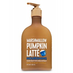 Bath & Body Works Marshmallow Pumpkin Latte Hand Soap with Shea Extract