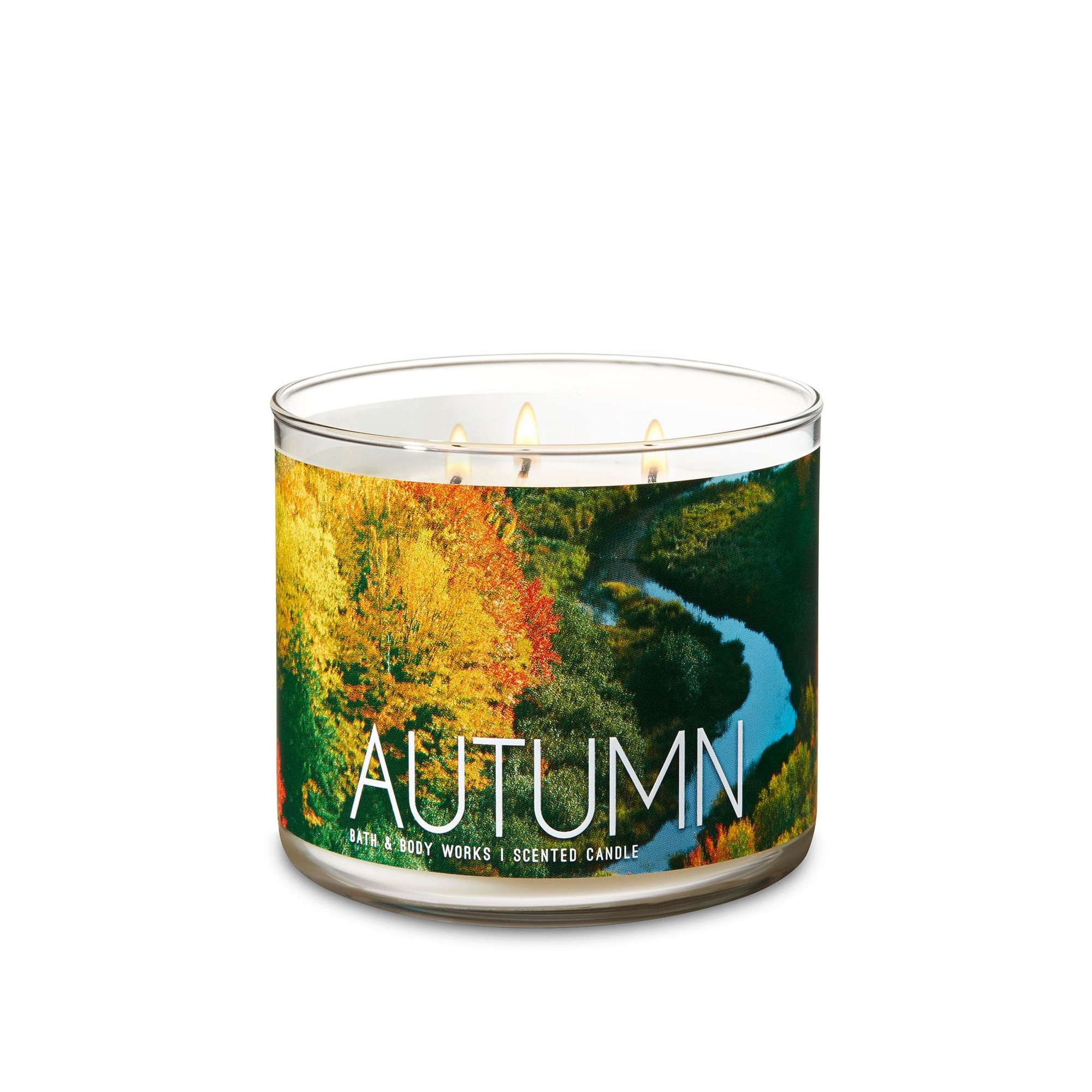 Bath & Body Works Autumn 3 Wick Scented Candle