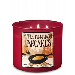Bath & Body Works Maple Cinnamon Pancakes 3 Wick Scented Candle