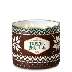 Bath & Body Works Toffee Brittle 3 Wick Scented Candle
