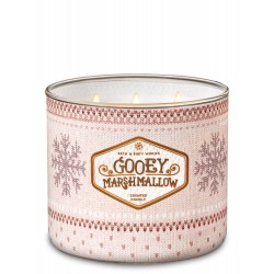 Bath & Body Works Gooey Marshmallow 3 Wick Scented Candle