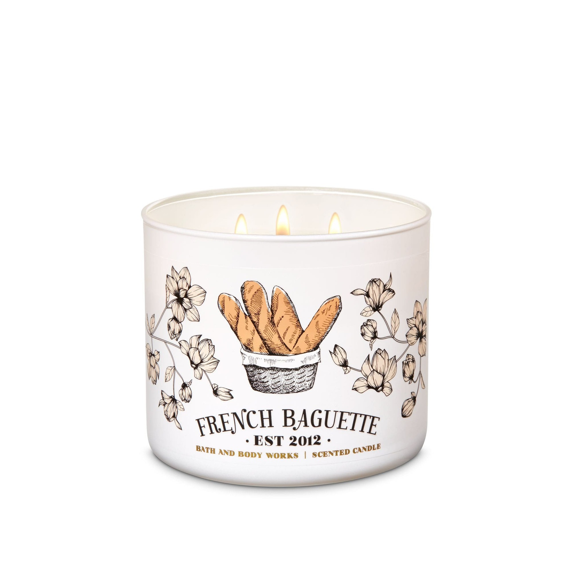 Bath & Body Works French Baguette 3 Wick Scented Candle