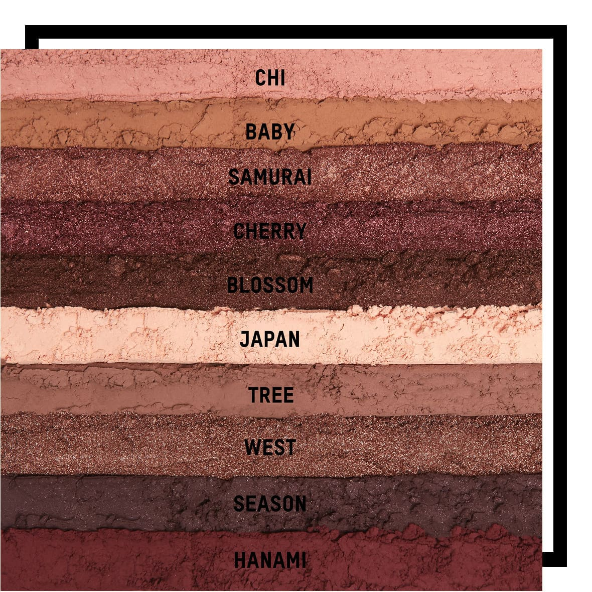 KKW Beauty Classic Blossom Collection Cherry Blossom Palette Swatches