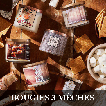 Bath & Body Works Bougie Parfumée 3 Mèches 3 Wick Candle