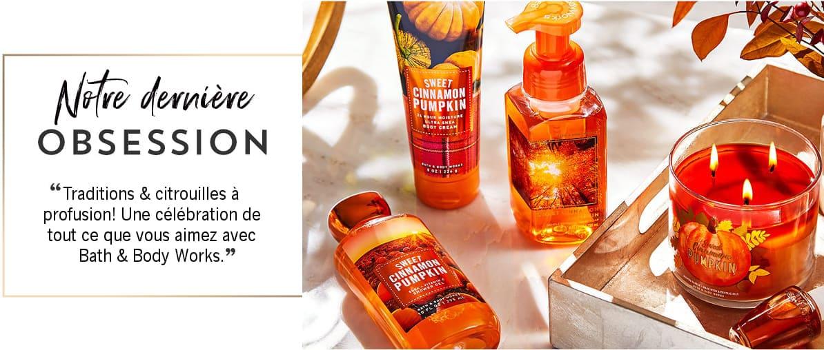 Bath & Body Works 3 Wick Candles Autumn Nouveauté Printemps Bougies Parfumées 3 Mèches Parfum D ambiance Automne