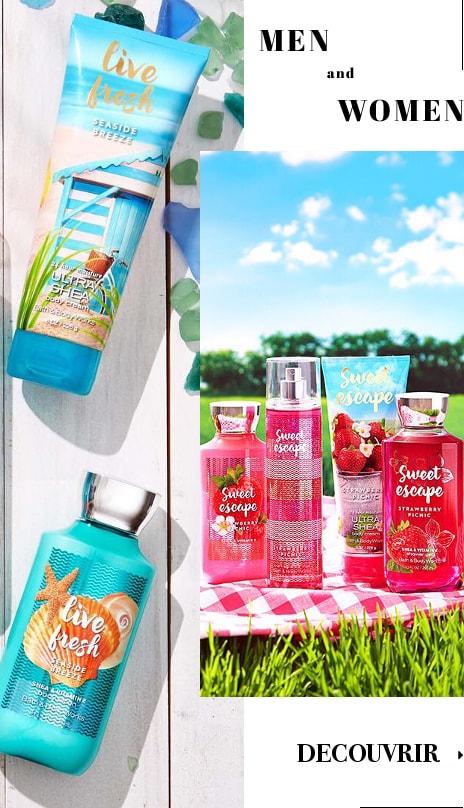 Bath & Body Works Bain & Corps Gel Douche lotion Crème Pour Homme Femme Lui Elle