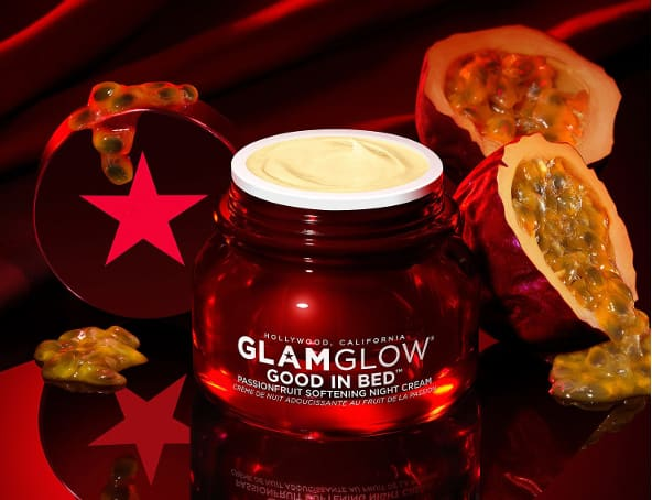 Glamglow Good in Bed Passionfruit Softening Night Cream Creme de Nuit Soin Visage
