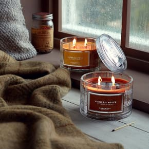 HomeWorx By Harry Slatkin Home Fragrance Parfum D Interieur Bougie Parfumée Vanilla Pear Vanilla Spice Candle