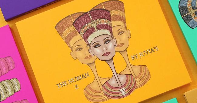 Juvia's Place Eyeshadow Palette Warrior Masquerade Nubian Zulu Fards a paupières