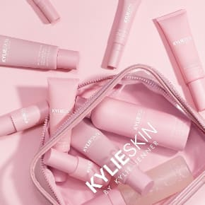 KylieSkin By Kylie Jenner Skincare Moisturizer Vitamin C Foaming Wash Scrub Lotion Soin Visage