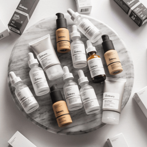 The Ordinary Skin Care Soin De La Peau Coverage-Foundation Serum Foundation Logo Produit beauté Retinol